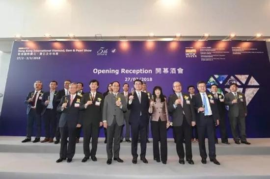 第五届香港国际钻石、宝石及珍珠展盛大揭幕