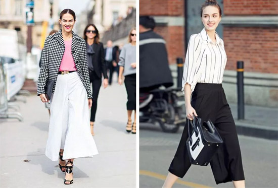 早春时尚搭配 记住这个时髦公式:设计感衬衣+阔腿裤