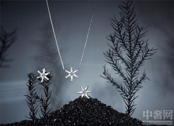 Feiliu雪花系列珠宝 不经意的美感是整个系列的精髓