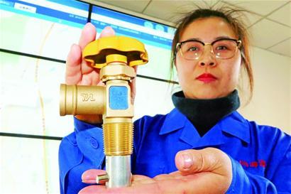 液化气钢瓶也有了高科技 从源头避免各种安全隐患