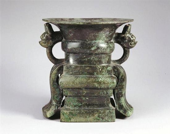 30组古代青铜器在芝加哥艺术博物馆展览