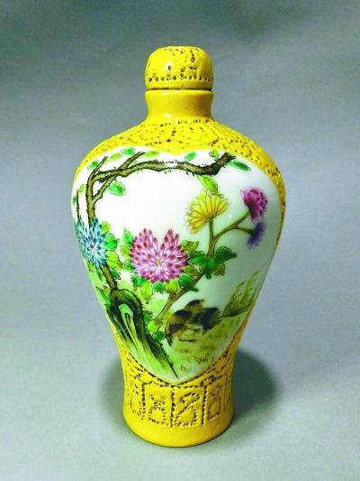 粉彩的价格买到清宫珐琅彩瓷器