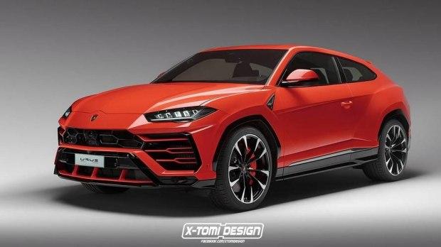 兰博基尼官方:中大型SUV——Urus将推出2门版车