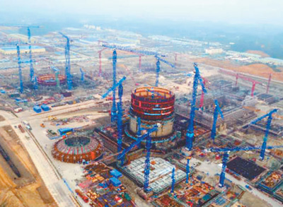 中国核电技术强势逆袭 启动核能供暖示范项目