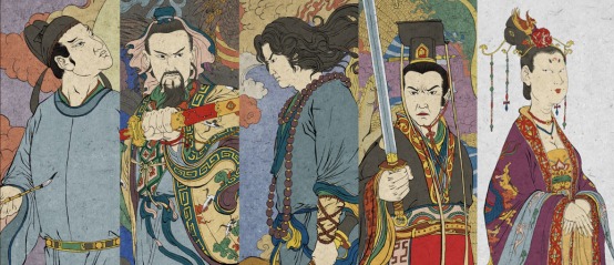 《大唐传奇》水墨工笔画风海报展现魑魅魍魉世界