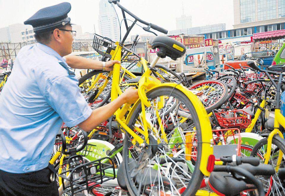 南京共享单车死城是怎么回事 整顿迫在眉睫