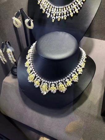 35届香港国际珠宝展 彩色钻石急速扩大市场