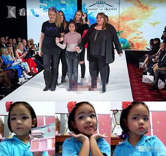 泰11岁女孩成化妆师 4岁就开始在网上自学化妆
