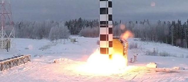 """普京大杀器新动作 准备再次试验""""萨尔玛特""""导弹"""