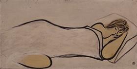 苏富比推现代艺术晚间拍卖专场 常玉《睡美人》五十年来首现