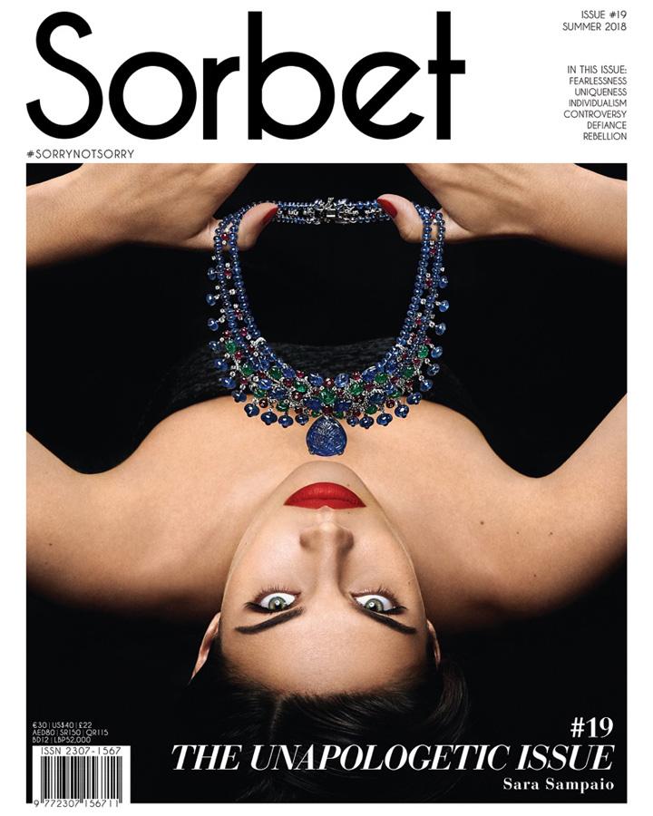 超模Sara Sampaio登杂志封面演绎卡地亚奢华珠宝
