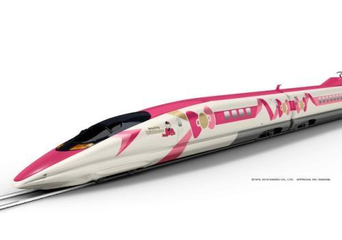 日本推出凯蒂猫新干线列车 将于今年夏天登场