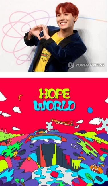 防弹少年团成员J-HOP个专 获韩国个人歌手Billboard200最好成绩