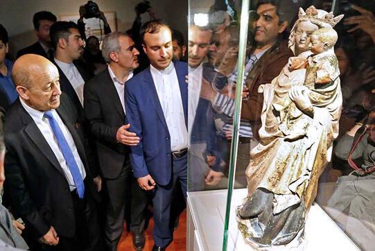 巴黎卢浮宫首次在伊朗举办全新展览