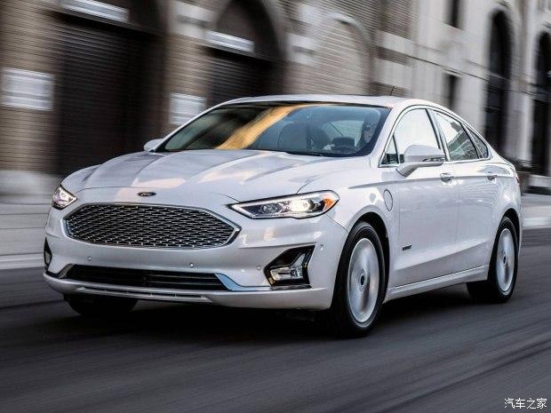 福特发布新款Fusion官图 将亮相纽约车展