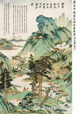 近现代书画艺术家占据中国市场的绝对核心
