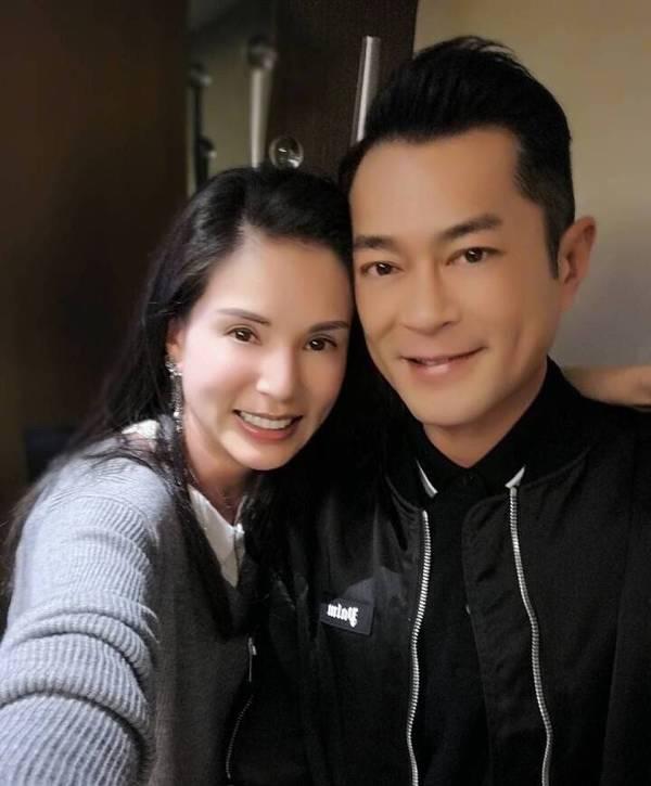 李若彤古天乐晚餐偶遇 杨过姑姑时隔七年同框