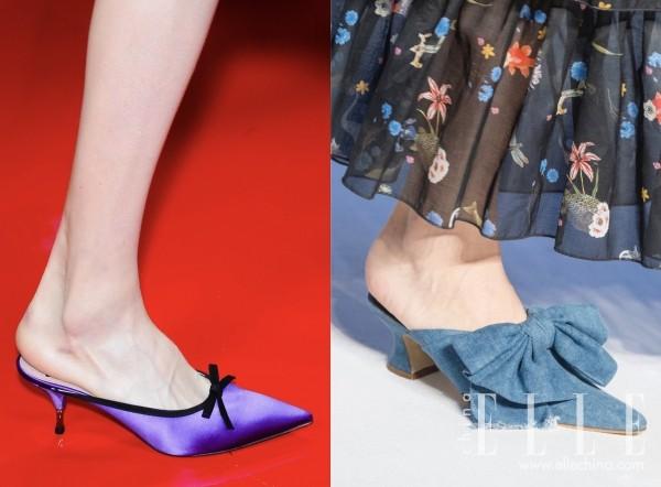 时髦人都在露脚后跟了 尖头穆勒鞋实在太美腻!