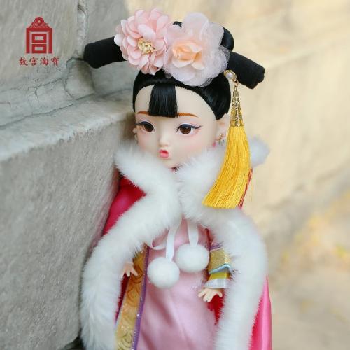 故宫停售俏格格娃娃 已经售卖的一律退款召回