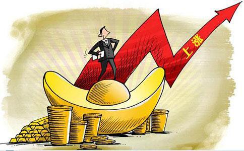 贸易战打响股市大跌 美元回落黄金期货冲高
