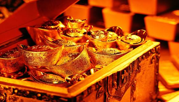 黄金多头气势汹汹 金价直逼1月份高点?