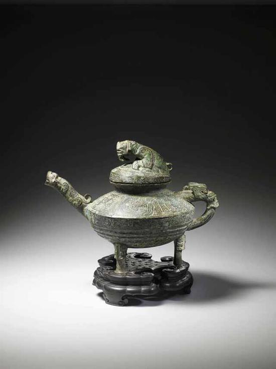 中国稀有青铜器即将在英国拍卖