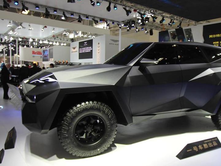 起售价156万英镑 史上最贵SUV全球限量10辆