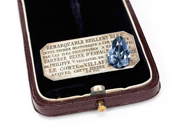 见证欧洲皇室300年变迁 绝世蓝钻将首次现身拍卖