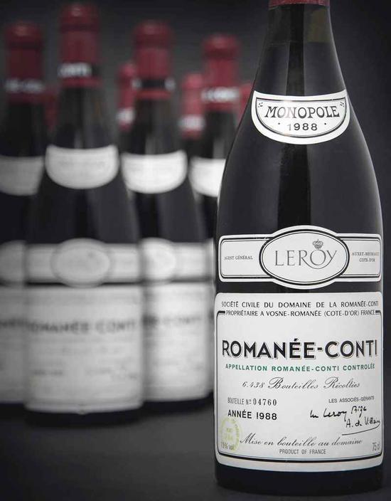 DRC创欧洲葡萄酒拍卖的新纪录