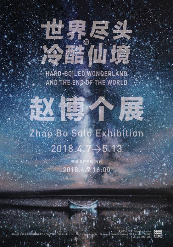 赵博个展在北京索卡艺术开幕