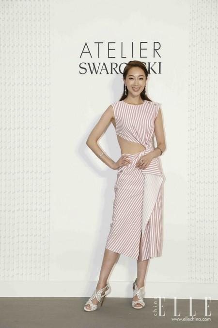 演员隋棠现身Atelier Swarovski欢庆品牌十周年