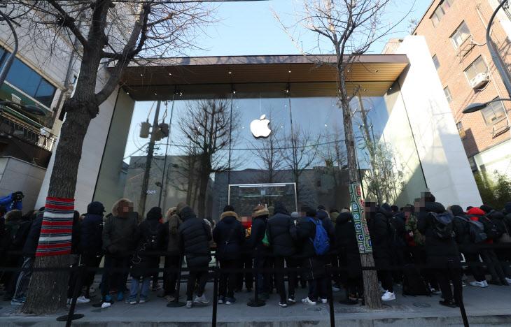 韩6万人起诉苹果 创韩国同一案件原告人数最多纪录