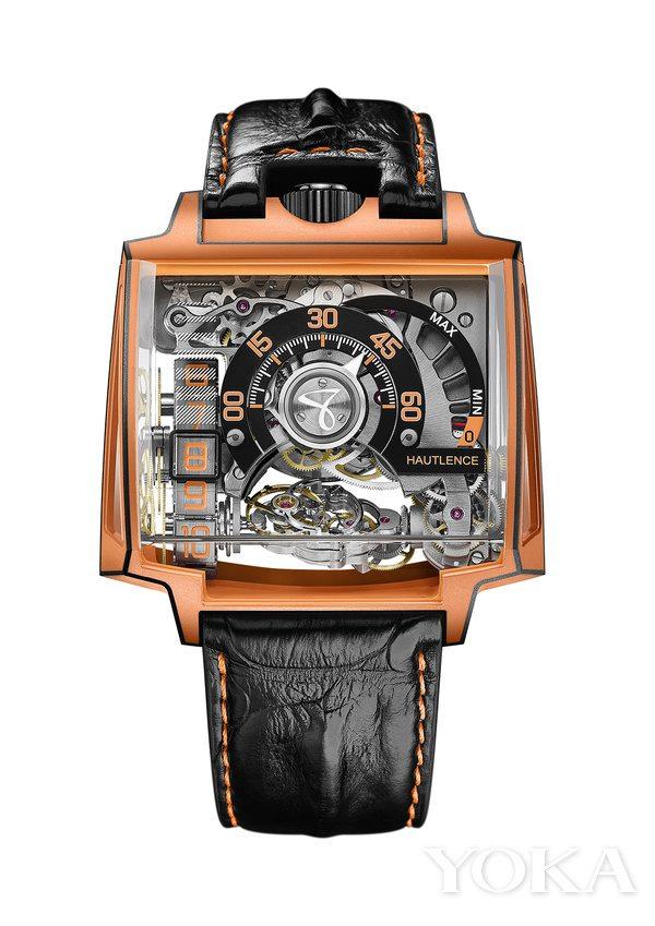 豪朗时VORTEX GAMMA MAGMA 打造高端科技腕表