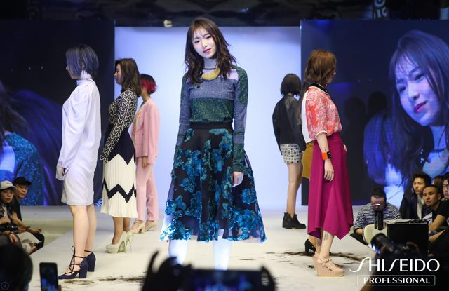 资生堂专业美发团队现身上海 解读春夏潮流