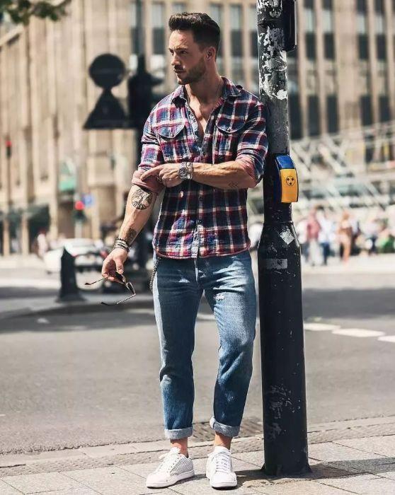 男士穿搭 挽裤脚的正确方式