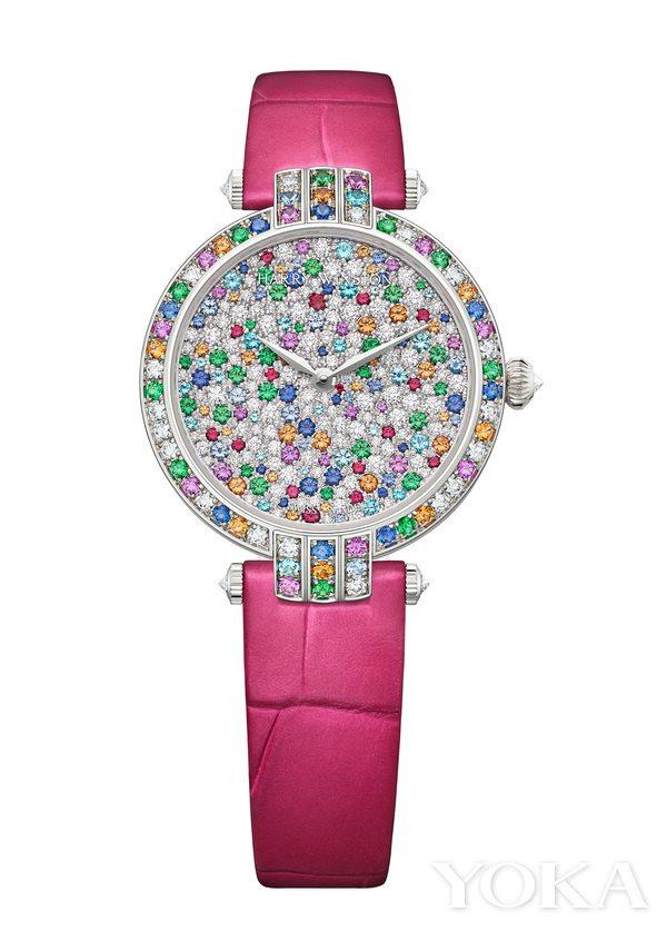 海瑞温斯顿卓时系列Winston Candy 31毫米自动腕表