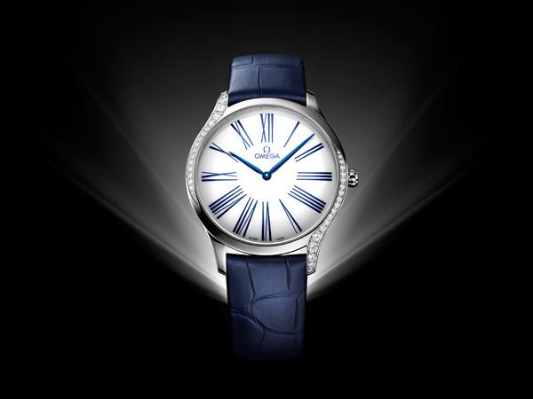 欧米茄推出全新碟飞名典系列女士腕表