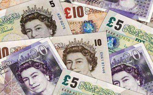 经济前景担忧升温 英镑兑美元下跌