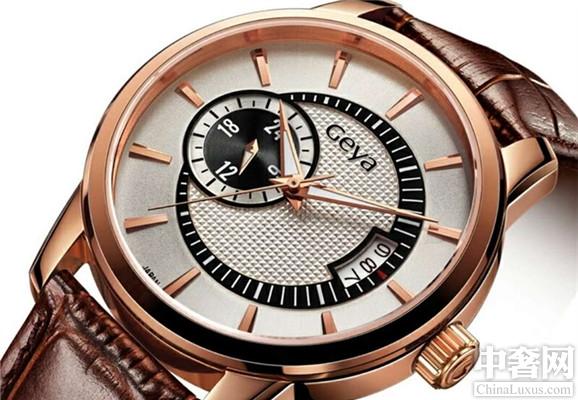 格雅G8109款腕表 打造精英风范