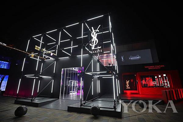 YSL圣罗兰美妆推出全球首家摇滚电玩城