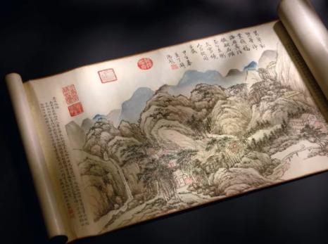 张大千《桃源图》香港引发前所未有的疯狂