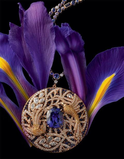 Tiffany & Co珠宝与大自然的完美结合