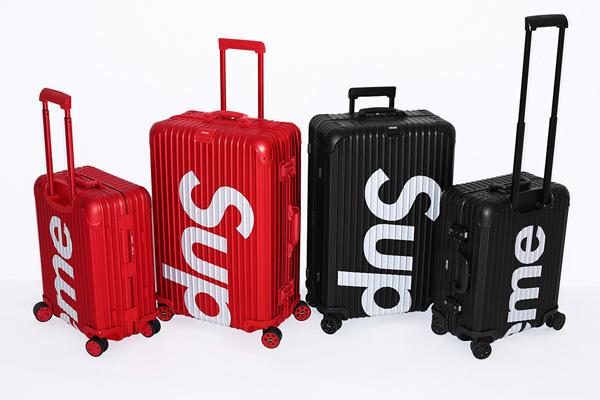 Supreme和RIMOWA联名系列行李箱发布