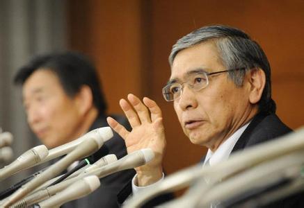 日银行长黑田东彦开启新任期 誓实现2%通胀目标