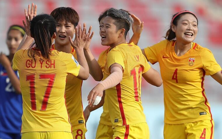 中国女足闯进世界杯 3-0完胜菲律宾