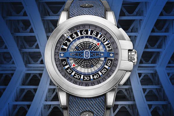 海瑞温斯顿全新Project Z12腕表 设计极富建筑感