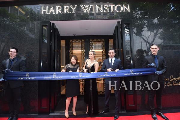 好莱坞影星凯特哈德森佩戴海瑞温斯顿出席活动