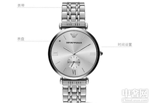 阿玛尼AR1819款腕表 专为年轻人设计