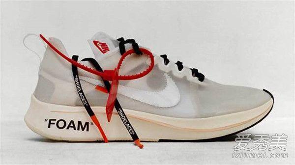 off white nike联名新鞋款今年下半年上市