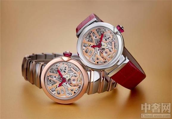 宝格丽镂空设计腕表 展现女性魅力